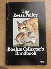 Vintage Boehm Porcelain handbook, Catalog , brochure and prices c1974