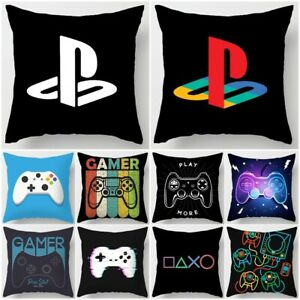 Playstation Game Icon Cushion Cover Throw Pillow Case Home Sofa Car Decoration