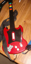 PS 2 Play Station2 Guitar's Hero Bundle with Guitar's,1Strap & 3 Games & 2MEMS