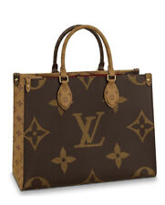 Auth Louis Vuitton OnTheGo Mm M45321 Monogram Fl2270 Tote Bag