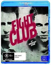 Fight Club (Blu-ray, 2009) 10th Anniversery Edition with slipcase. USED-LIKE NEW