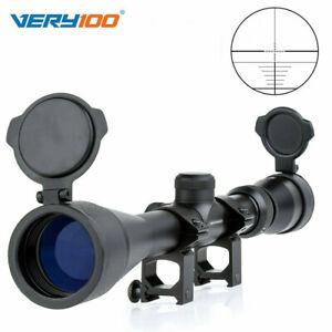 3-9x40 Mil Dot Zoom Sniper Luft Zielfernrohr mit 20mm Schienenmontage Sport