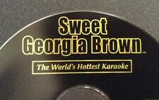 BRAND NEW Sweet Georgia Brown Karaoke CDG Disc SGB068 POP TOP 40