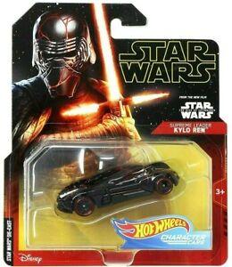 Hot Wheels Star Wars Character Cars KYLO REN Supreme Leader Die-Cast 1:64 Scale