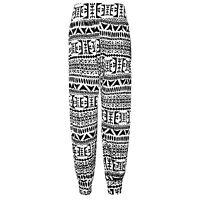 Womens Ladies Plus Size Cotton Ali Baba Harem Hareem Full Length Trousers Pants