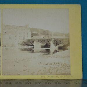 1860s Stereoview Photo Dolgelley The Bridge At Francis Bedford N Wales