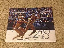 Kerri Walsh Jennings & April Ross Auto 11x14 Rio Olympics Beach Volleyball USA