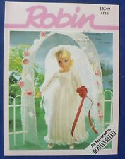 Robin 'Sindy's Wedding Dress' Knitting Pattern, 13249 [BOT]