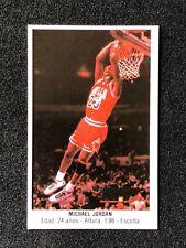 1987 Michael Jordan #113 Merchante Sticker Card