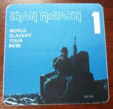 Iron Maiden-World Slavery Tour 1984/85 - VIP pass-Inutilisé -
