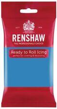Renshaw Ready To Roll Zuckerguss Fondant Kuchendekoration 250g Turkis