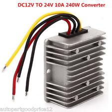 Universal DC 12V Step Up to 24V 240W 10A Car Power Converter Regulator Adaptor