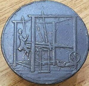 1792 John Harvey of Norwich Half Penny Token
