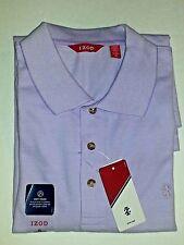 NWT IZOD Men's Newport Oxford Lavendula Polo Shirt sz M MEDIUM  $44