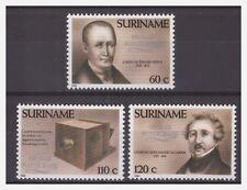 Surinam / Suriname 1989 Fotografie photograph Joseph Niepce Louis Daguerre MNH