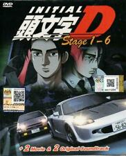 DVD Anime INITIAL D Stage 1-6 + 2 Movie + 2 OST All Region English Subtitle