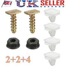 COMBO FRONT WHEEL ARCH TRIM CLIPS NUT METAL SCREWS WING For VAUXHALL CORSA C URB