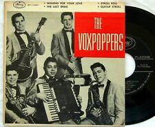 HEAR Voxpoppers 45 EP picture sleeve Last Drag doo wop rockabilly 1-3391 pic EX