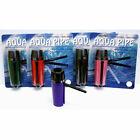 ONE AQUA TOBACCO, Folding Toke, ,Mixed colors ,Sneak a Original Aqua, water. Hit
