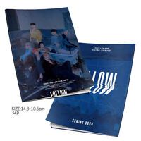 Kpop Monsta X HD Photograph FOLLOW-FIND YOU Mini Album Photo Book Fans Gifts