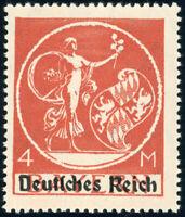 DR 1920, MiNr. 135 XVII, tadellos postfrisch, Kurzbefund Weinbuch, Mi. 140,-