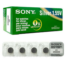 5 x SONY 371 370 batteries Silver oxide 1.5V SR920SW SR69 V371 V370 for watches
