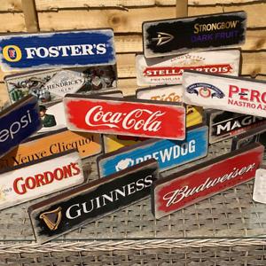 Wooden Bar Signs Mancave Drink Shed Garage Wall Vintage Retro Wood Pub Sign UK