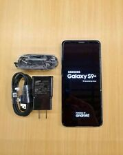 Good as New! Samsung Galaxy S9 Plus 64GB Black - Factory Unlocked