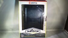 "AUTHENTIC Griffin Survivor Samsung Galaxy Tab 4 7"" Rugged Case (GB39911) - Black"