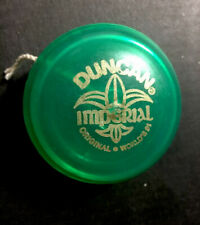 Vintage Classic Green Duncan imperial yoyo Toy World's Number One