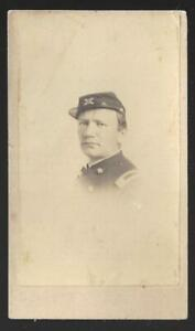 Civil War Era CDV Union Artillery Major/Lt Colonel