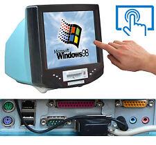 """15"""" 38cm pantalla táctil monitor TFT incl. equipo con rs-232 LPT disco flexible Windows 98"""
