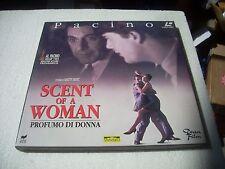 SCENT OF A WOMAN - PROFUMO DI DONNA  2LD / laserdisc film in italiano