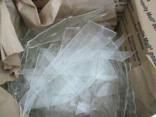 Bullseye Clear Scrap Glass Coe 90 - 16 Pounds - Medium/ Small Pieces