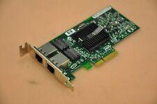 HP NC360T PCI-e Dual Port Gigabit Network Card 412651-001/412648-B21 2U profile
