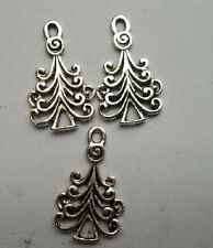 30pcs Tibetan silver Christmas tree charms pendant 23x18.5 mm
