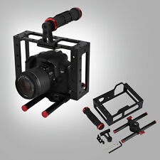 DSLR Camera Video Cage Stabilizer Rig Top Handheld Set for For Canon EOS 5D 7D