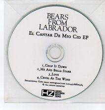 (DQ438) Bears From Labrador, El Cantar De Mio Cid EP - DJ CD