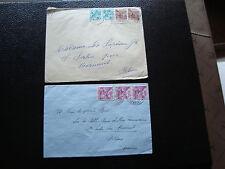 SUISSE - 2 enveloppes 1939 1940 (cy27) switzerland