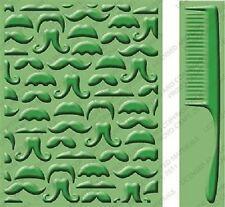 CUTTLEBUG embossing folder plus border - Mr. Maverick 2001312 REDUCED