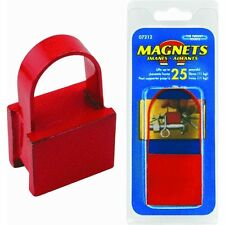 "25lb Pull Strong 1"" Industrial 25# Handle Magnet Source Master Magnetics 07212"