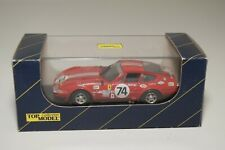 A8 1:43 TOP MODEL TMC009 TMC 009 FERRARI DAYTONA LE MANS LM 72 #74 RED MIB