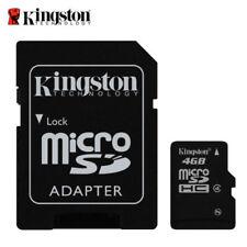 Kingston microSDHC 4 GB Memory Card