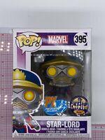 Funko Pop! Marvel Star-Lord #395 Halloween ComicFest 2018 PX IMPERFECT BOX O03