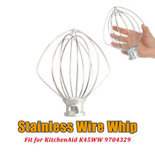 6-Wire Whip Attachment For KitchenAid Tilt-Head Stand Mixer Replace K45WW e