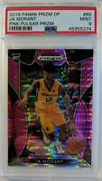 2019-20 Panini Prizm Draft Picks Pink Pulsar Ja Morant Rookie #65, Graded PSA 9