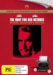 The Hunt For Red October DVD