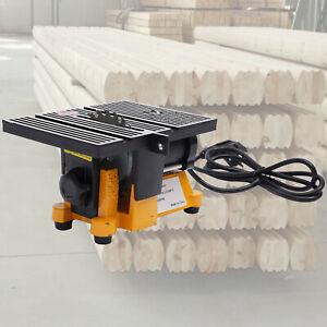 "4"" Mini Electric Table Saw Hobby&Craft Power Tool metal Wood Cutting Machine USA"