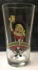 Sheboygan Sudzzers Homebrewing Oktoberfest Brewfest 2012 Beer Glass Tumbler