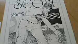 Signed Bob Scott New York Black Yankees Negro league